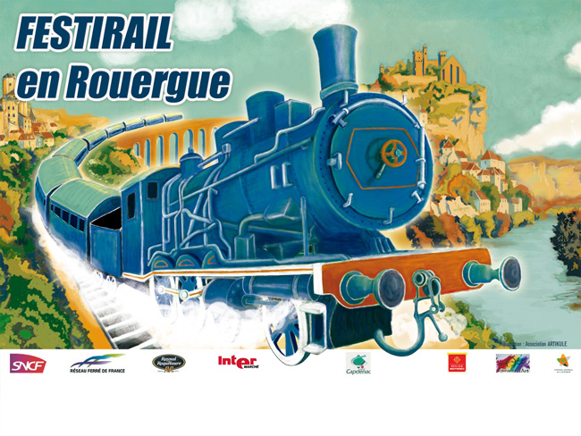 Festirail en Rouergue 2010